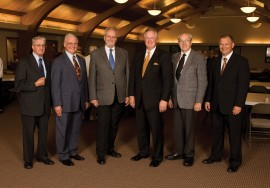 Hesston College's former presidents and interim presidents