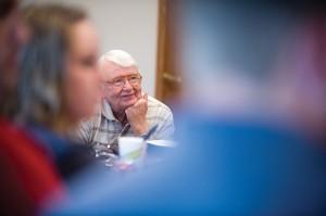 Hesston College Business faculty member Bill Mason