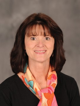 Hesston College Business faculty member Vickie Andres