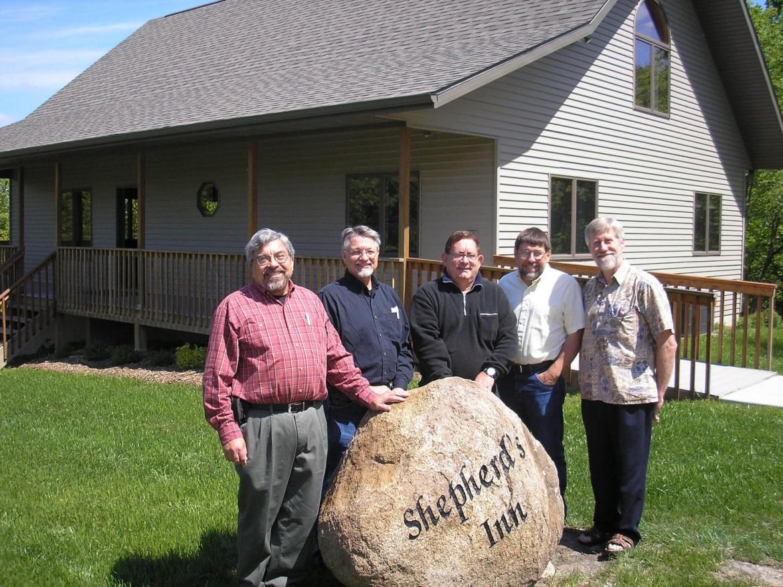 In May 2010, Tim Detweiler, Dan Diener, Alvaro Fernandez, Nick King and Steve Ramer, all 1972 graduates, met at Crooked Creek Christian Camp in Washington, Iowa, for a weekend of reminiscing, personal sharing, worship and celebration.