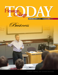 Hesston College Today cover, spring 2010