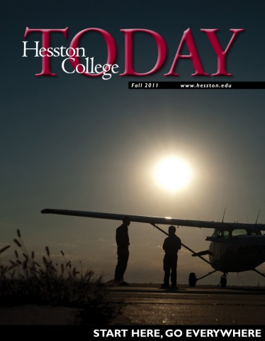 Hesston College Today fall 2011 cover