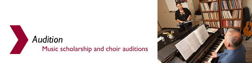 Audition for Hesston College Music