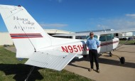 Hesston College Aviation - Redfa Titihalawa, class of 2014
