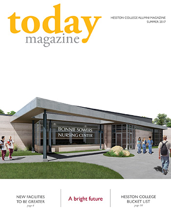 Hesston College Today Summer 2017 cover - A Bright Future