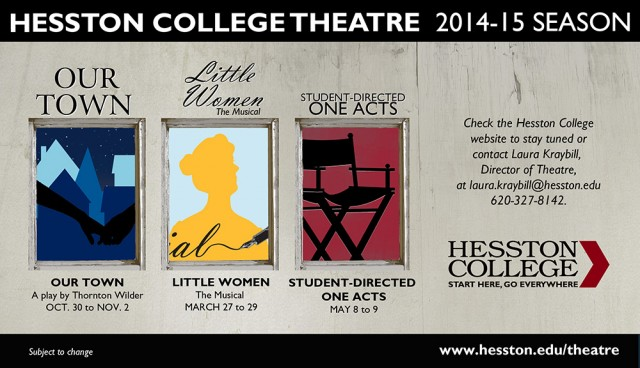 2014-15 Hesston College Theatre season