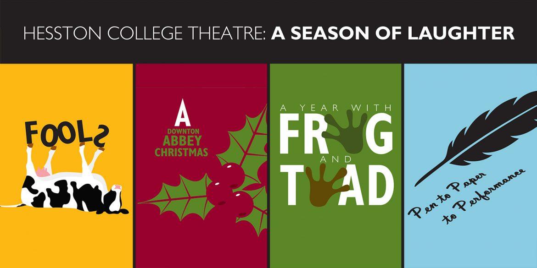 2016-17 Hesston College Theatre Season banner