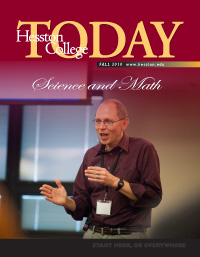 Hesston College Today Cover Fall 2010: Science and Math