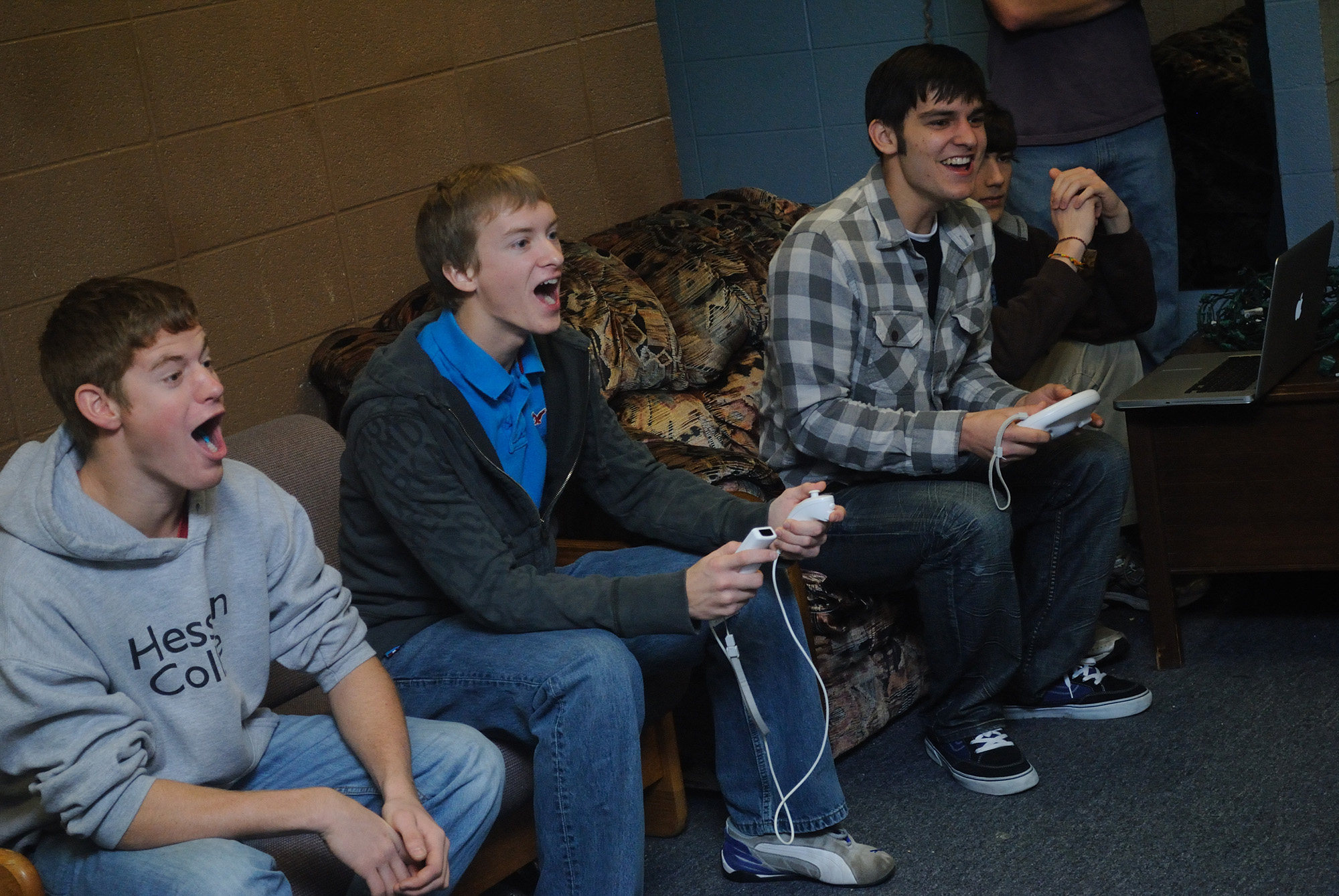 Image result for college kids playing video games