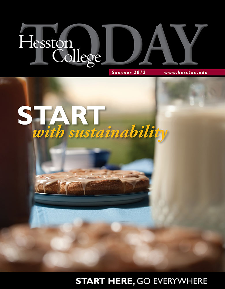 Hesston College Today summer 2012 cover