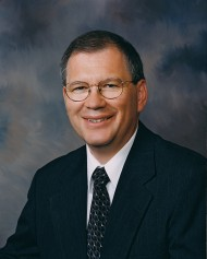 Hesston College President Howard Keim