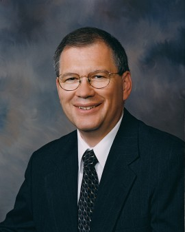 Hesston College President Howard Keim