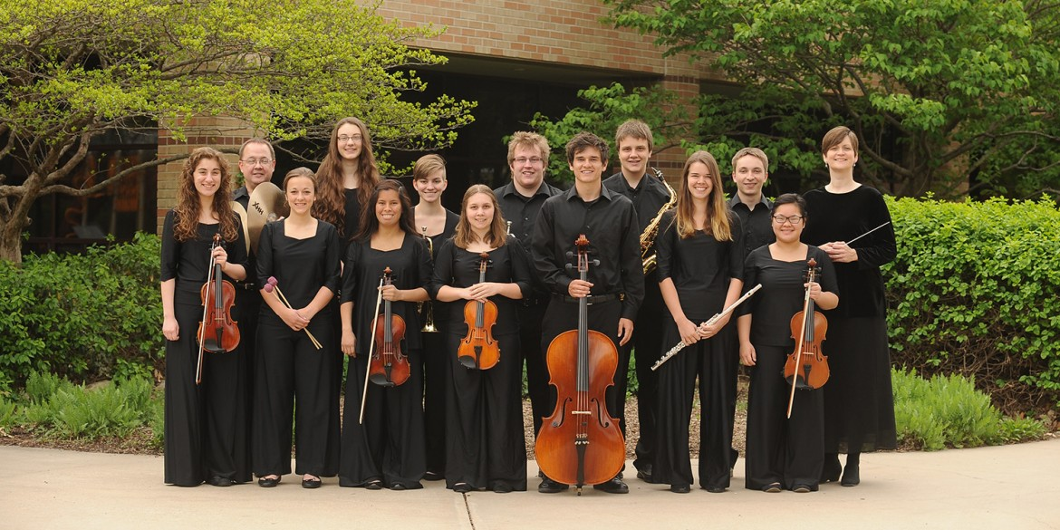 2014-15 Hesston College Chamber Orchestra