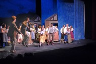 photo from the Hesston College and Bethel College production of Brigadoon
