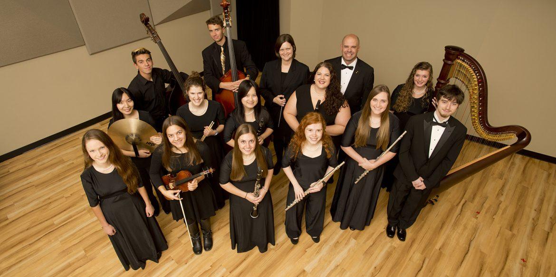 2016-17 Hesston College Chamber Orchestra