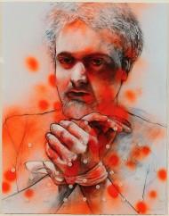 """Healing of St. Sebastian #1"" by Randy Horst"
