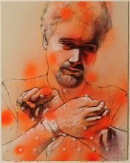 """Healing of St. Sebastian #3"" by Randy Horst"
