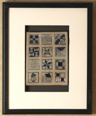 """Framed Quilt"" by Jane Fry"
