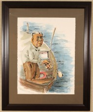 """Fisherman"" by Joseph Shetler"