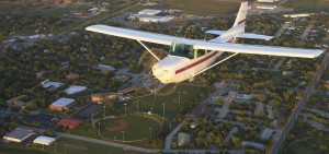 Hesston College airplane