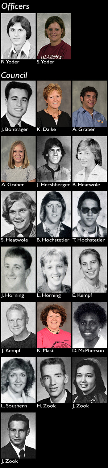 Hesston College alumni advisory council composite photo