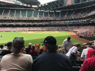 Diamondbacks game photo