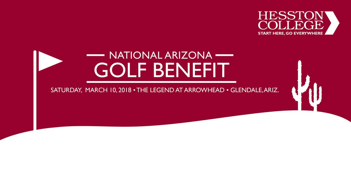 Hesston College National Golf Benefit, The Legend at Arrowhead, Saturday, March 10, 2018