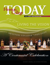 Fall 2009 Hesston College Today cover