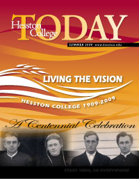 Summer 2009 Hesston College Today cover