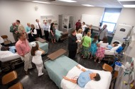 Newton Medical Center Simulation Lab Open House