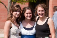 Graduates after the 2011 Hesston College Commencement Service