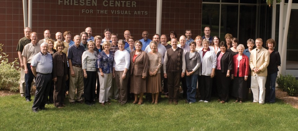 Hesston College faculty photo, Sept. 22, 2009