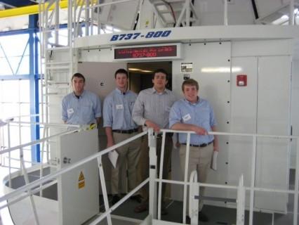 Aviation students at ATOP