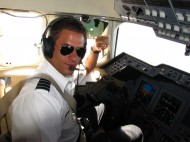 Markus Hess '07 is a pilot with Citation Technology Partners. He and his wife, Amber, live in Newark, Calif. Courtesy photo