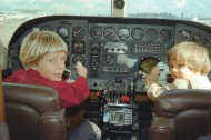 Jason Miller '92 had aspirations of being a pilot from a young age.