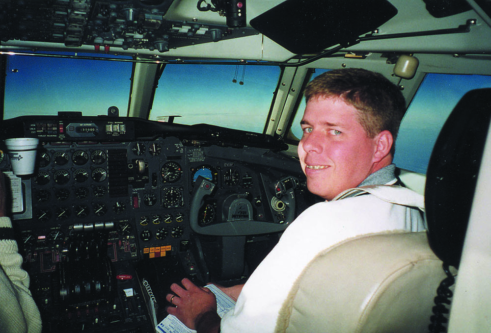 Jason was a pilot with Executive Aircraft, a company started by Hesston graduate Stan Roth '68 (deceased).