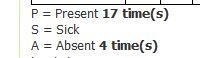 attendance-record