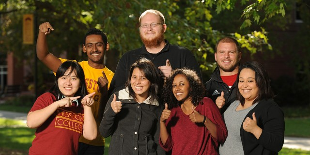 2013 Hesston College First-Year Seminar scholars