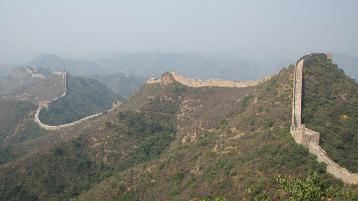 Great Wall of China - photo by Craig Gingerich