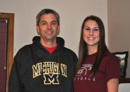 Barry Albrecht '85 and Erin Albrecht '13. Courtesy photo.