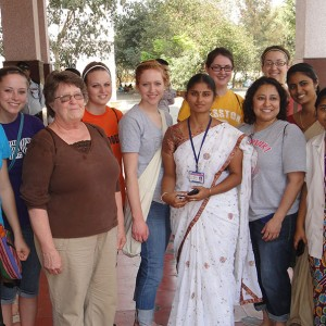 Seven Hesston College nursing students and one instructor spent two-weeks in Chiluvuru, Andhra Pradesh, India during a two-week extended spring break trip.
