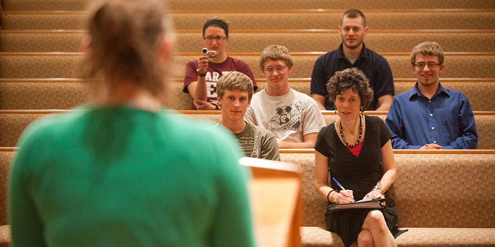 Hesston College students to preach during Holy Week - Hesston College