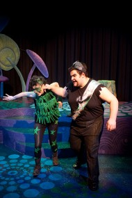 an image from Hesston College's spring 2012 production of A Midsummer Night's Dream