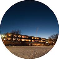Hesston College's Erb Hall dormitory