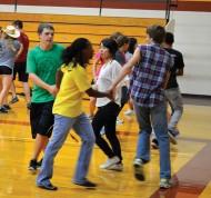Hesston College contra dance
