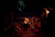 photo from the Hesston College production of Green Card