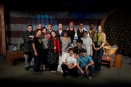 cast photo from the Hesston College production of Green Card