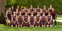 2012 Hesston College Cross Country team photo