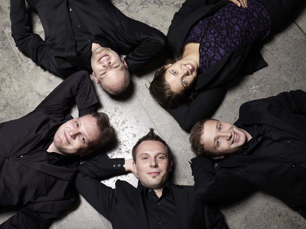 The German vocal quintet, Calmus, will finish off the 2012-13 Hesston-Bethel Performing Arts series with a 3 p.m. concert, Sunday, April 14 at Hesston Mennonite Church on the Hesston College campus.