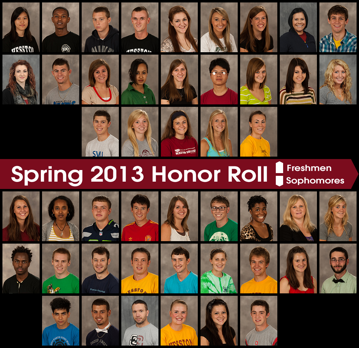 news students named spring semester honor rolls